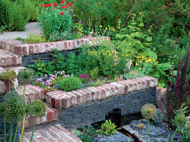 Hanggarten fantastisch auf jeder ebene gartenflora for Garten gestalten hanglage