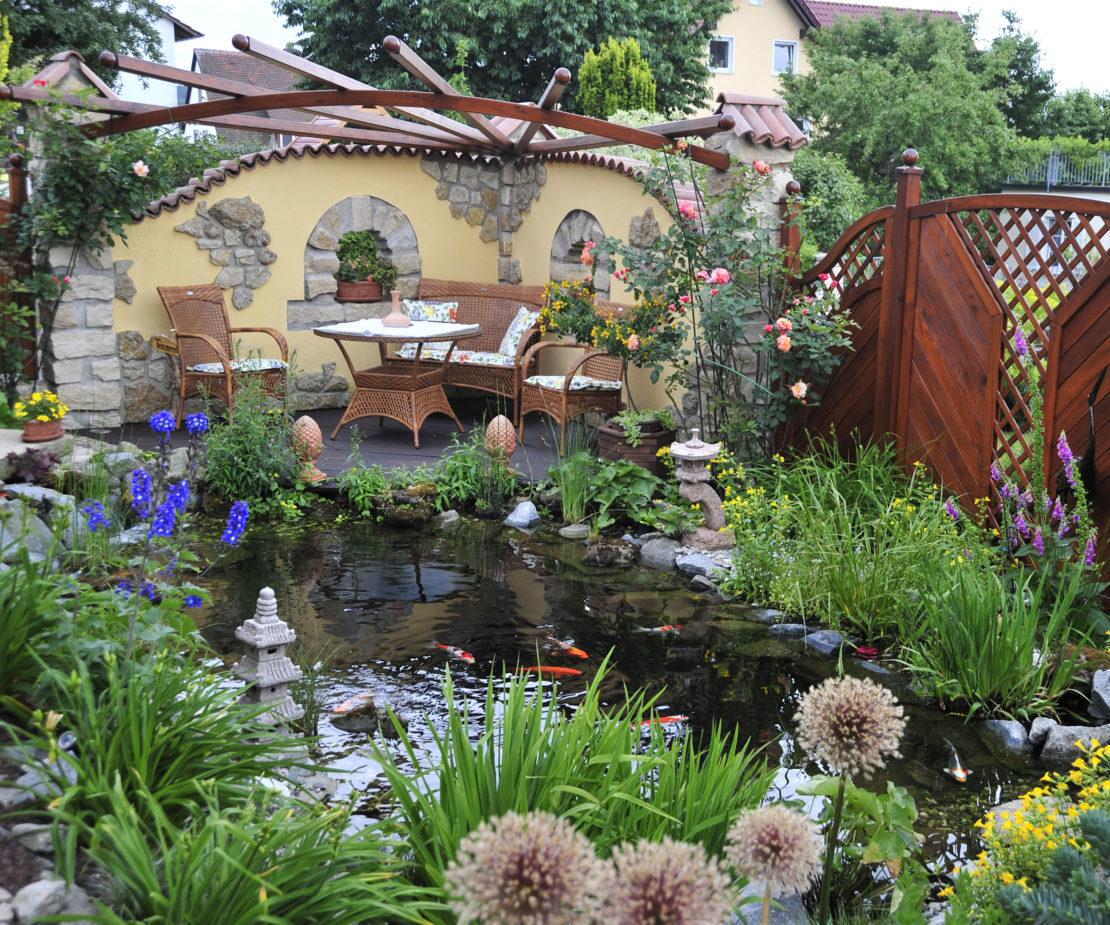 Bachwunder Garten von Herrn Eichner