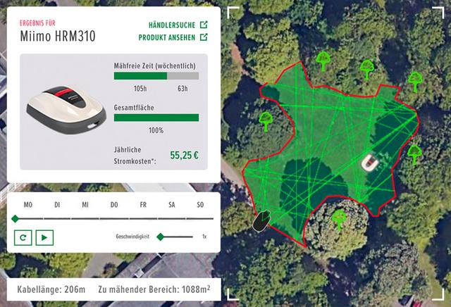 Screenshot: kleiner-Rasen-Simulator_Honda