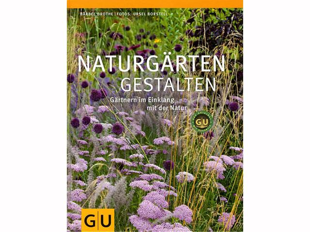 Buchcover Naturgärten gestalten