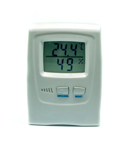Luftfeuchtigkeit im Gewächshaus messen