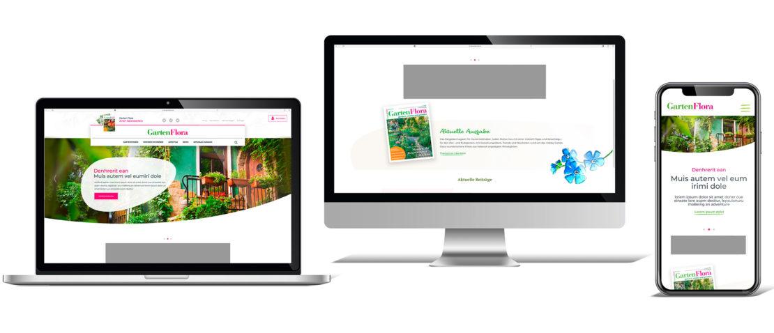 Ansicht Online GartenFlora