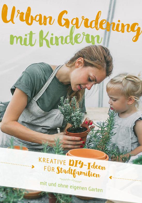 Titelbild des E-Books über Urban Gardening mit Kindern