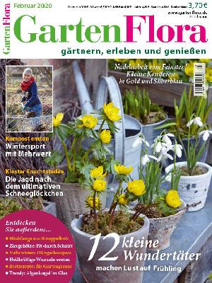 Titelbild der GartenFlora Februar 2020