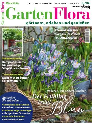 Titelbild der GartenFlora März 2020