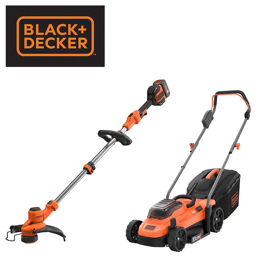 Preis 2 x Akku-Gartengeräte von Black + Decker