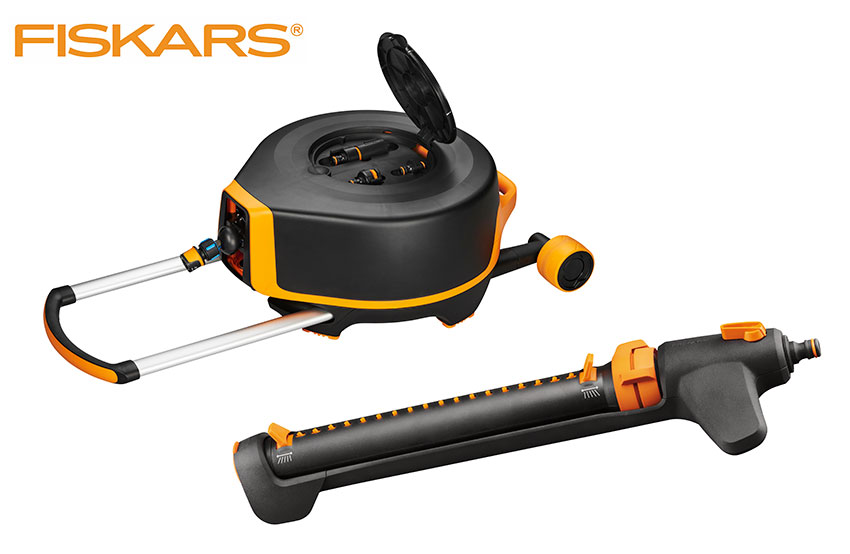 Preis Waterwheel XL + oszillierender Sprinkler von Fiskars