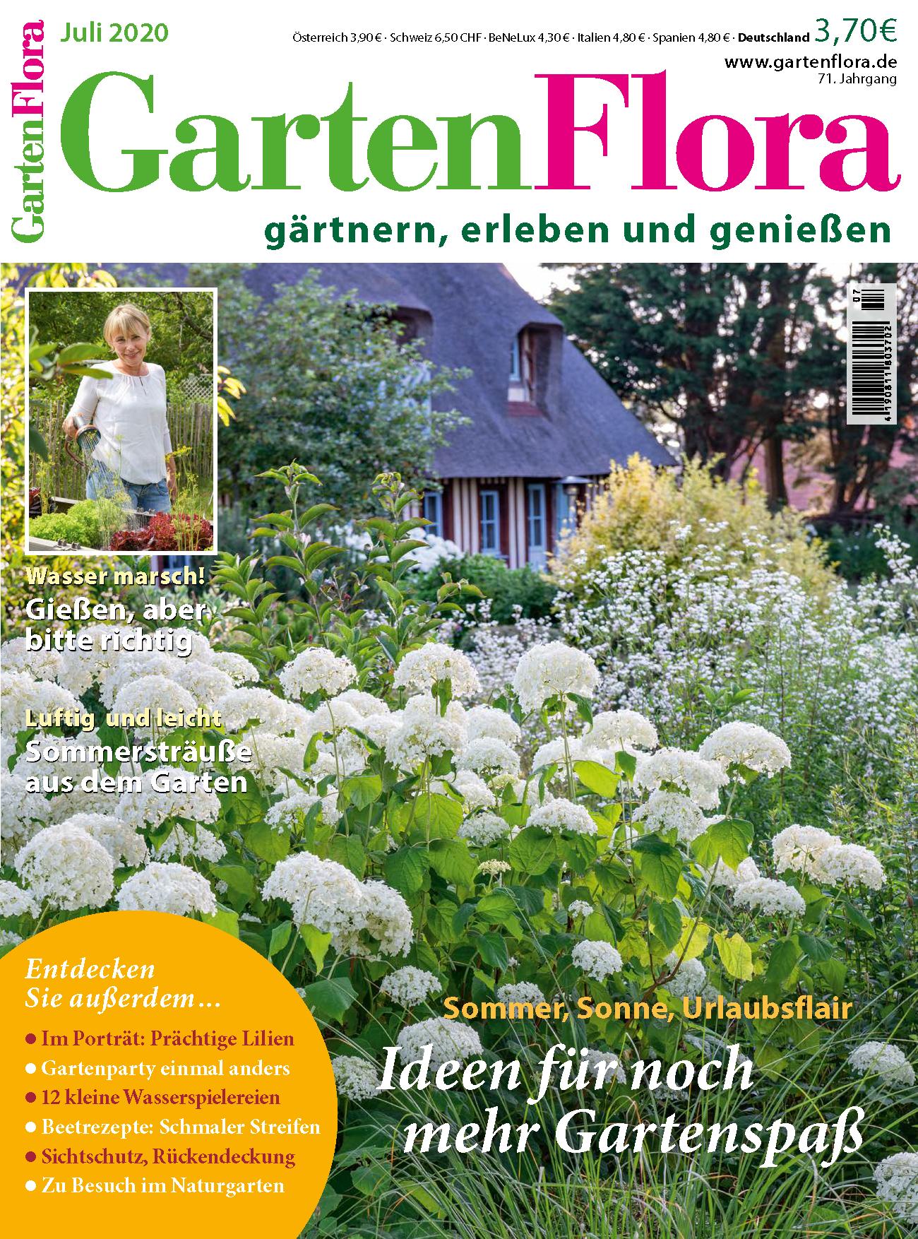 GartenFlora Juli 2020