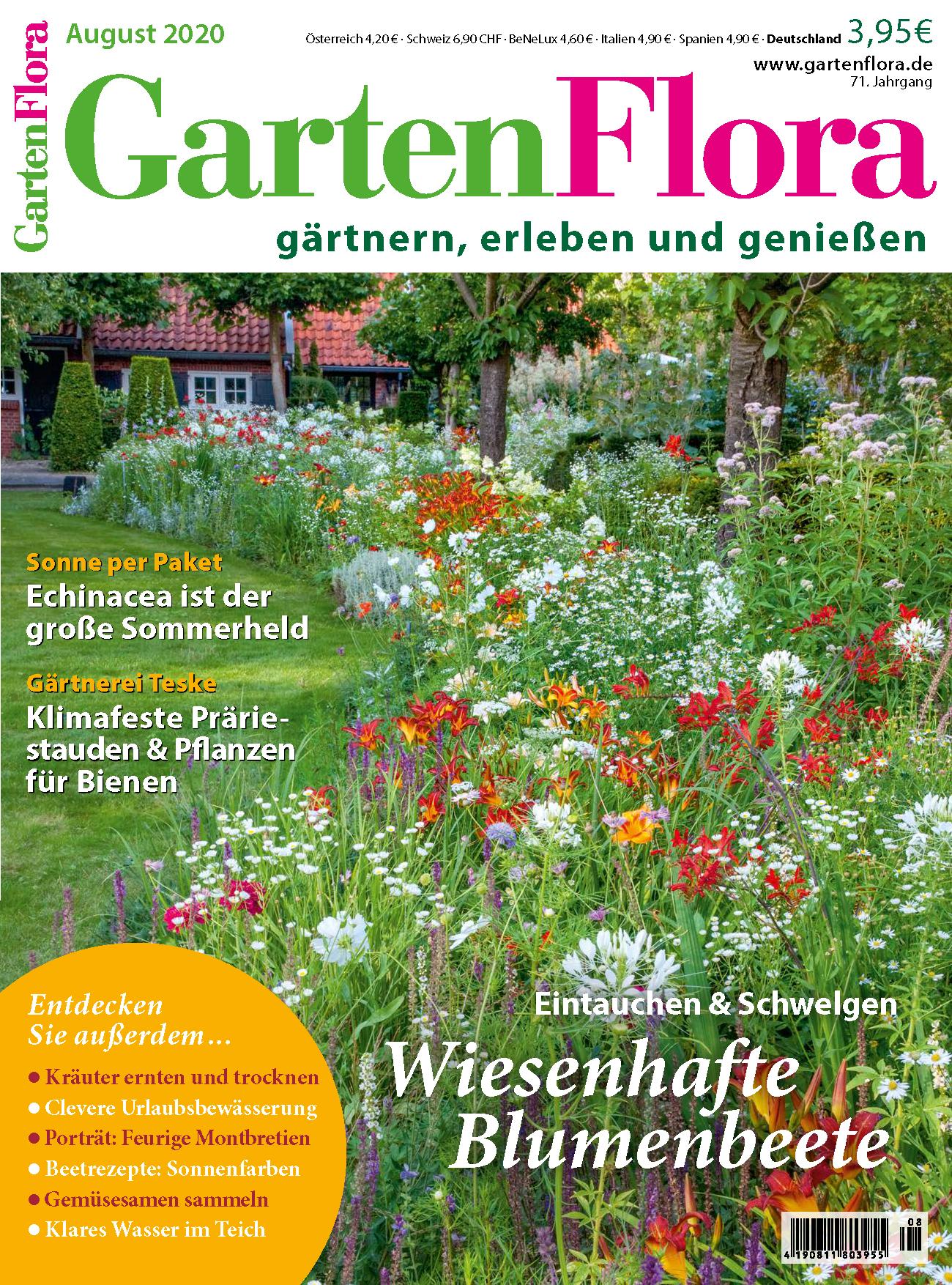GartenFlora Ausgabe August 2020