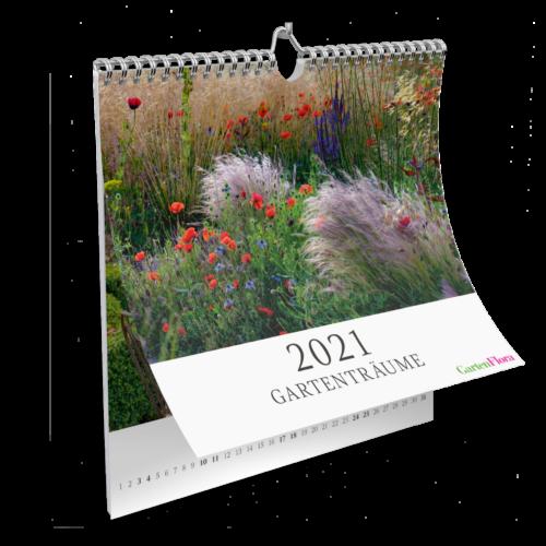 GartenFlora Cover Wandkalender 2021