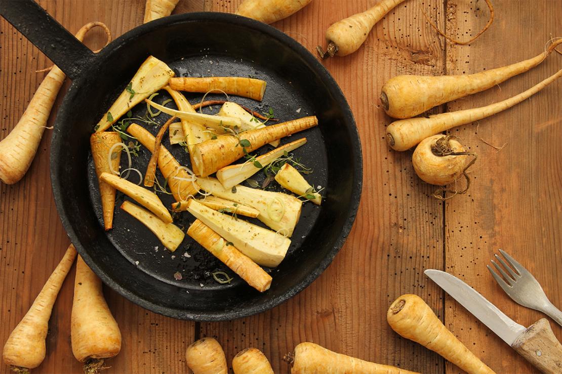 Pastinaken Rezept Foto: AdobeStock_Eflstudioart